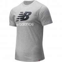 Футболка чоловіча New Balance Essentials Stacked Logo MT01575AG
