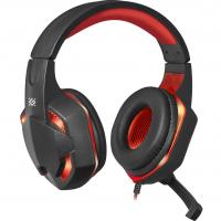 Навушники DEFENDER (64037)Warhead G-370 2,0m black red
