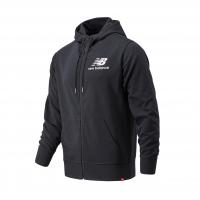 Спортивна куртка New Balance Essentials Stacked Full Zip MJ03558BK