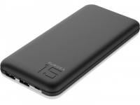 Батарея універсальна PURIDEA S3 15000mAh Li-Pol Rubber Black & White