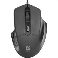 Мишка Defender (52347)Datum MB-347 black ,4 кнопок, 800-1600 dpi
