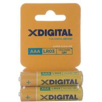 Батарейки X-DIGITAL LR 03 1x2 шт.