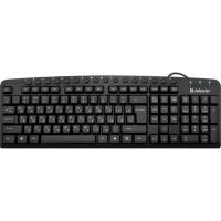 Клавіатура Defender (45470) Focus HB-470 RU black