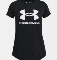 Футболка для дівчаток Under Armour Sportstyle Graphic Short Sleeve 1361182-001