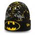 Шапка New Era BATMAN CHARACTER PAINT SPLAT BLACK CUFF BEANIE HAT 60141663