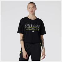 Футболка жіноча NB Essentials Athletic Club Boxy T-Shirt WT13509BK